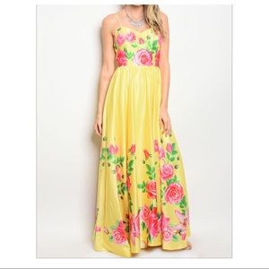 ❌SALE❌🎉Host Pick🎉Spring Floral Maxi